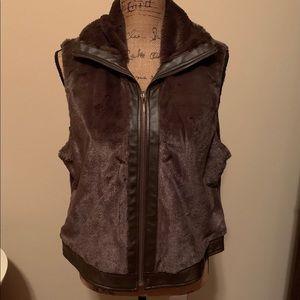 Gorgeous petite faux fur vest-NWOT!